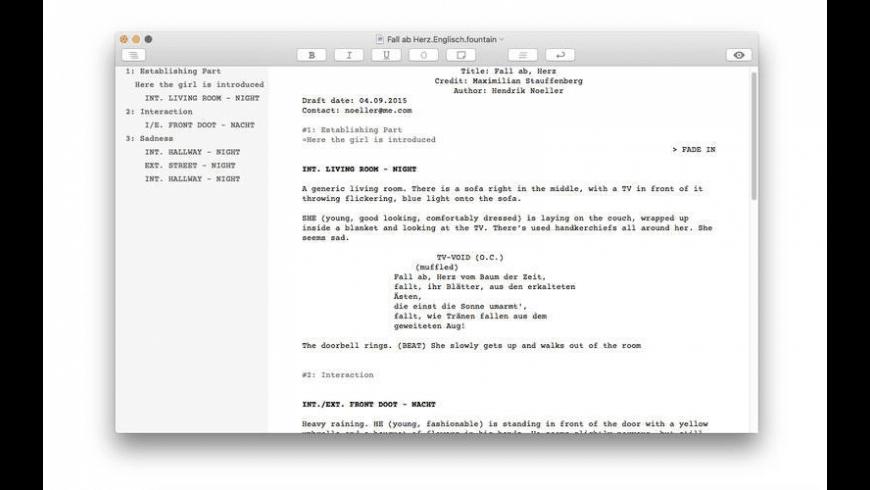 Writer for Mac - review, screenshots