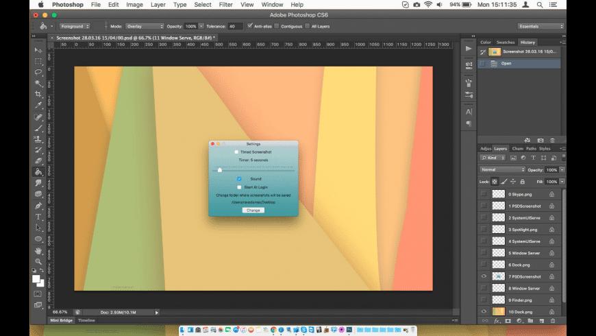 PSDScreenshot for Mac - review, screenshots