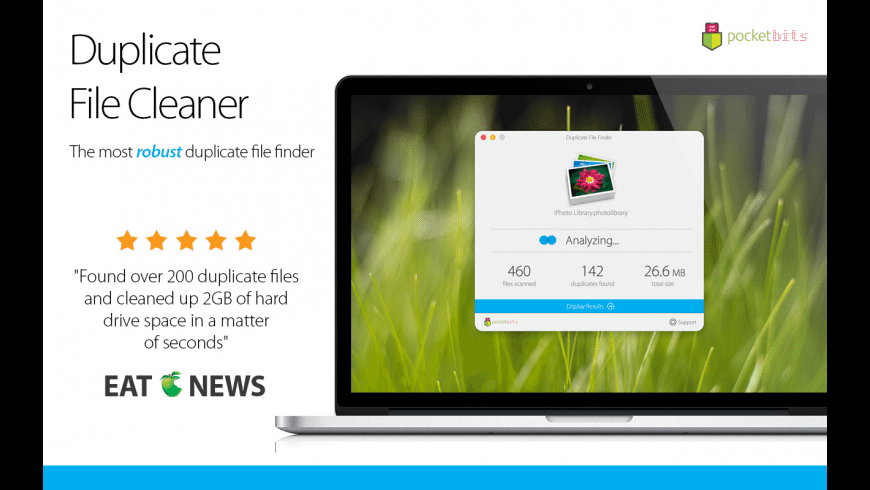 Duplicate File Cleaner for Mac - review, screenshots