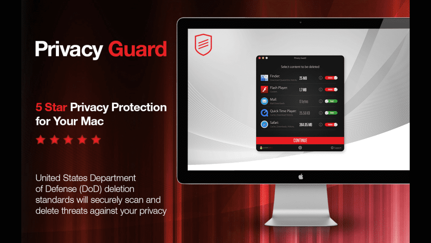 Privacy Guard for Mac - review, screenshots