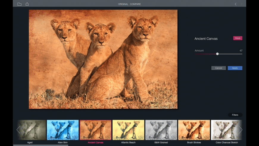Filters for Photos for Mac - review, screenshots