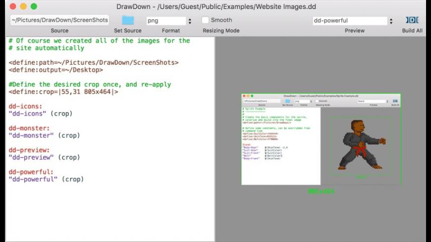 DrawDown for Mac - review, screenshots