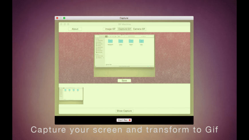 Gif Machine for Mac - review, screenshots