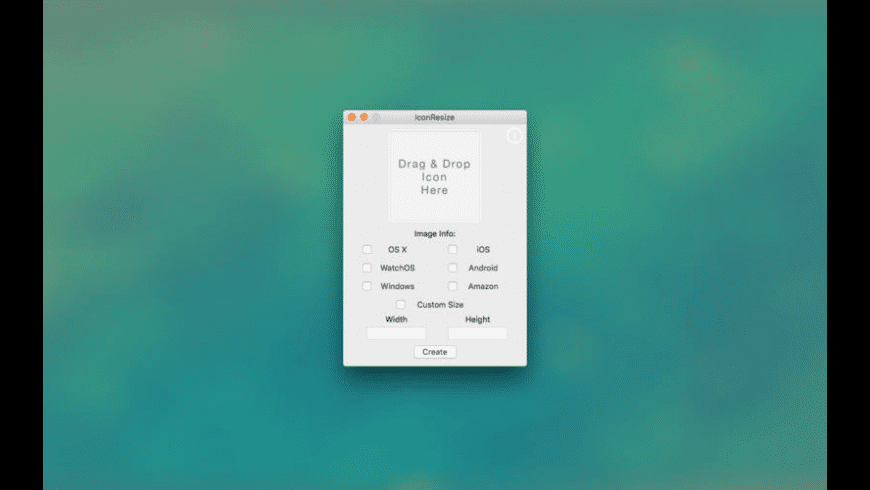 IconsResizer for Mac - review, screenshots