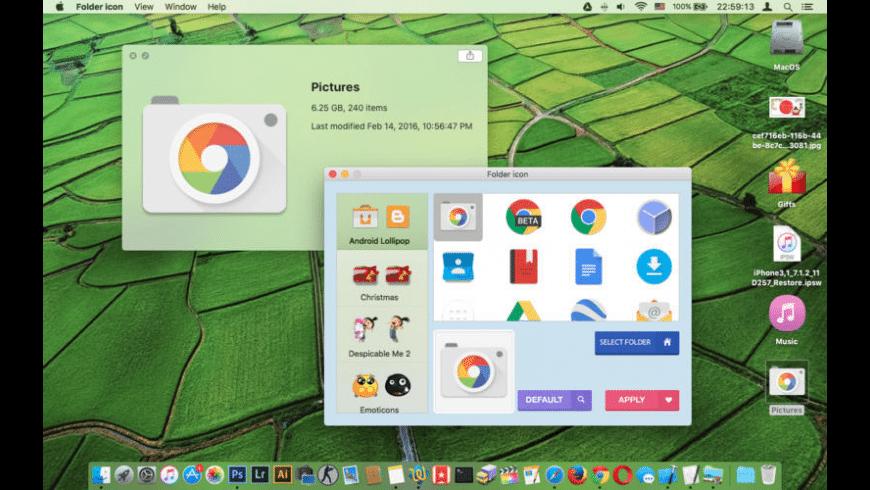 Folder Icon Designer for Mac - review, screenshots