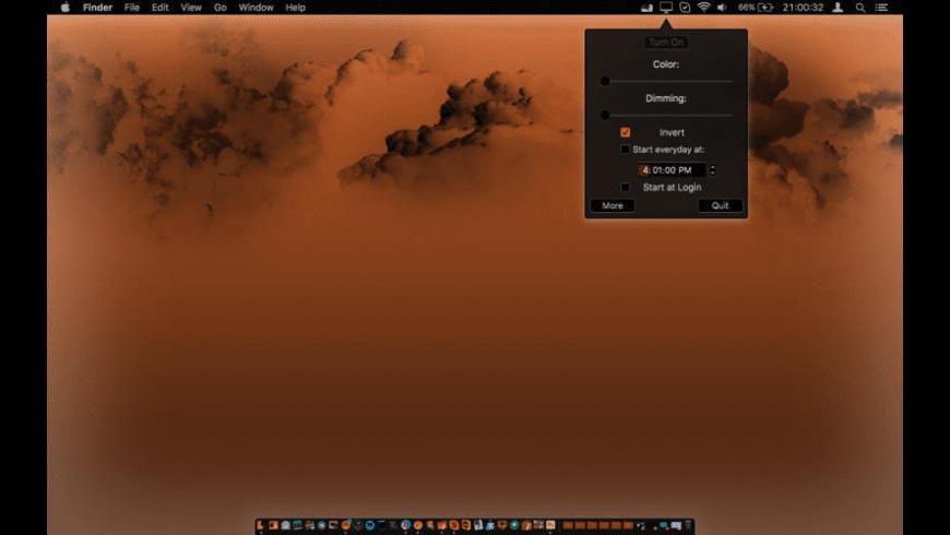 Night Screen for Mac - review, screenshots