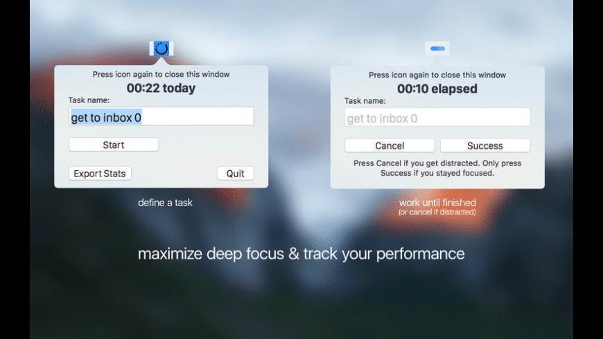 Zen Time for Mac - review, screenshots