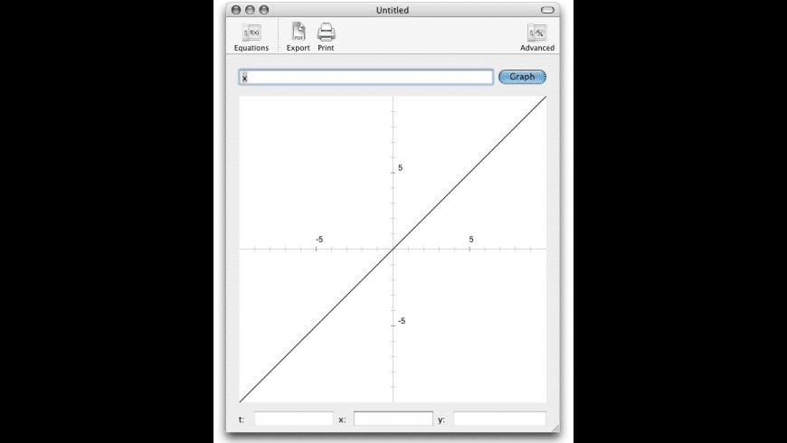 Graph550 for Mac - review, screenshots