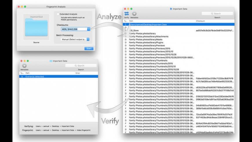 Fingerprint for Mac - review, screenshots