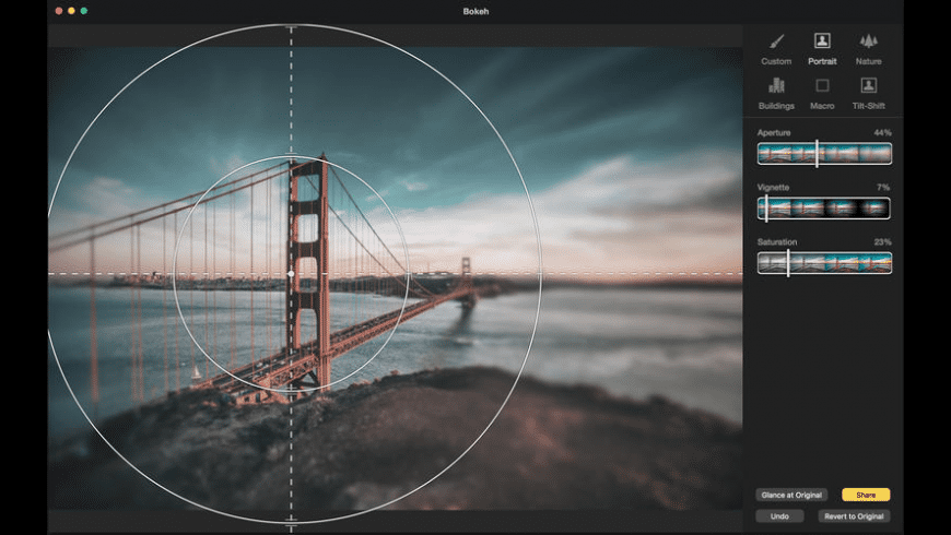 Bokeh for Mac - review, screenshots