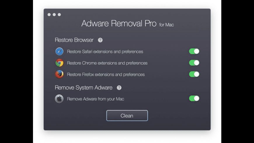 Adware Removal Pro for Mac - review, screenshots