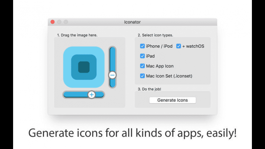 Iconator for Mac - review, screenshots