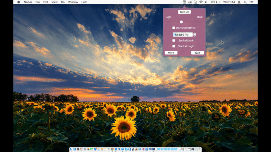 Desktop Shades for Mac - review, screenshots