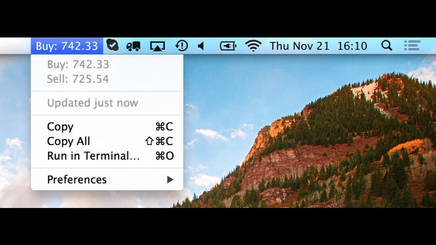 BitBar for Mac - review, screenshots