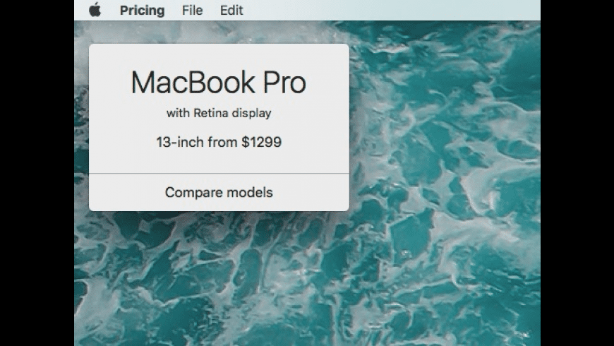 Pricing for Mac - review, screenshots