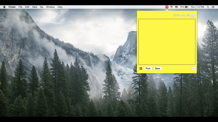 Uppernote for Mac - review, screenshots