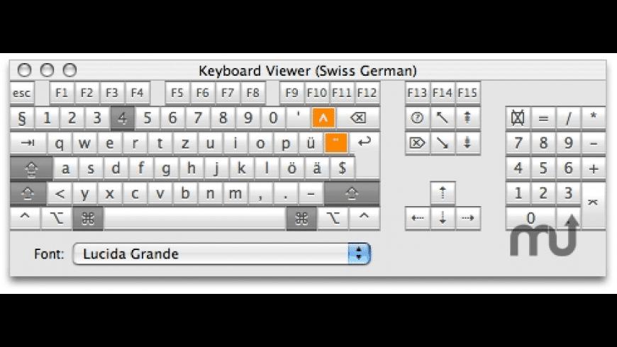 KeyViewer for Mac - review, screenshots