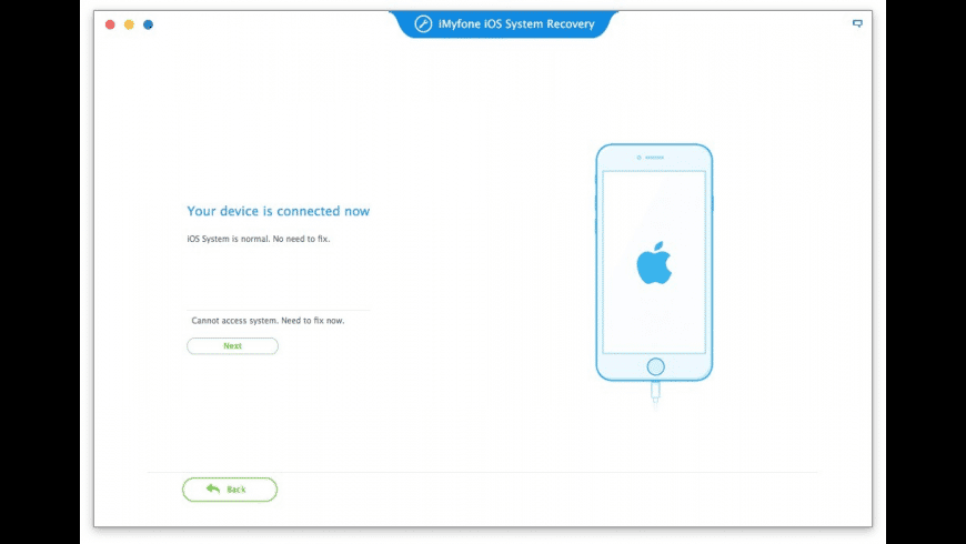 iMyfone iOS System Recovery for Mac - review, screenshots
