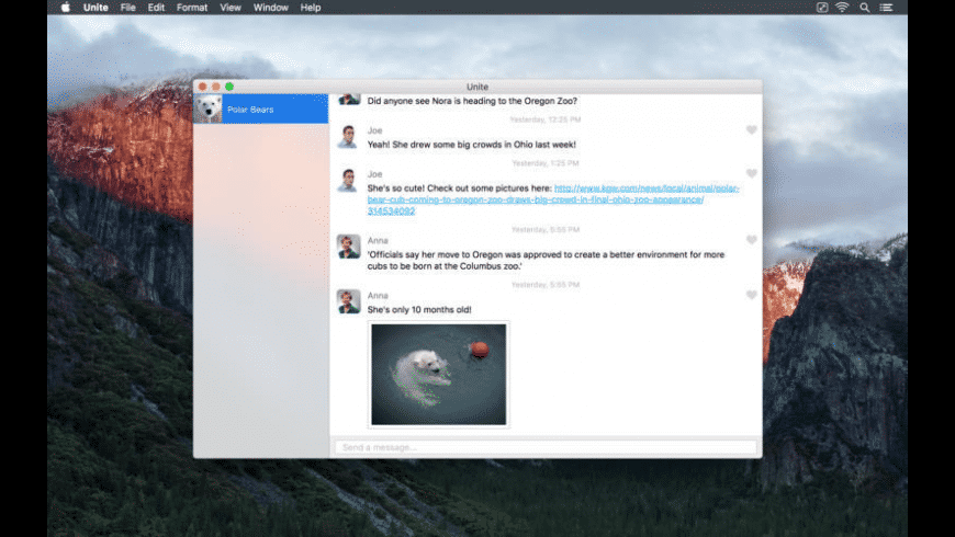 Unite for Mac - review, screenshots