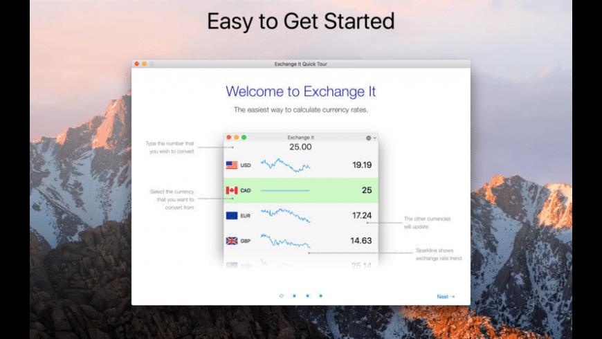 Exchange It for Mac - review, screenshots