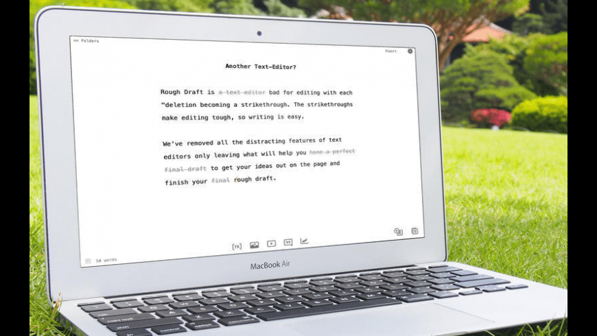 Rough Draft for Mac - review, screenshots