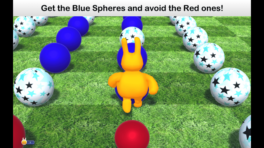 Blue Spheres for Mac - review, screenshots