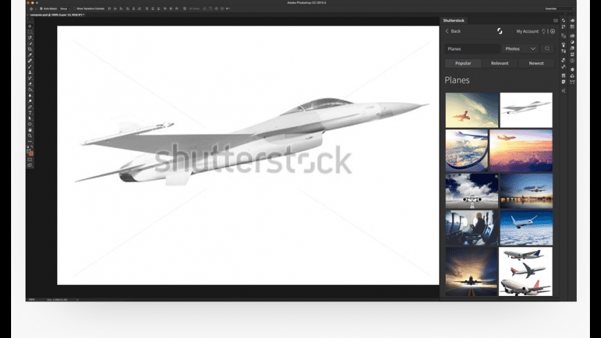 Shutterstock for Mac - review, screenshots
