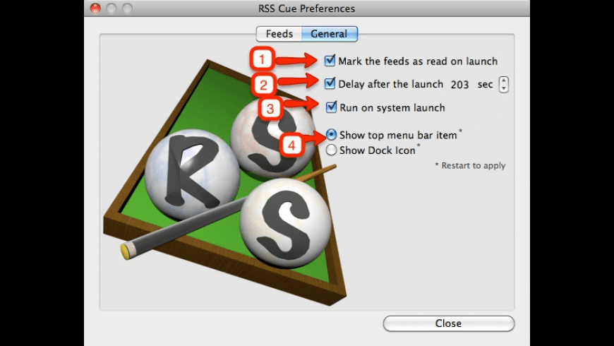 RSSCue for Mac - review, screenshots
