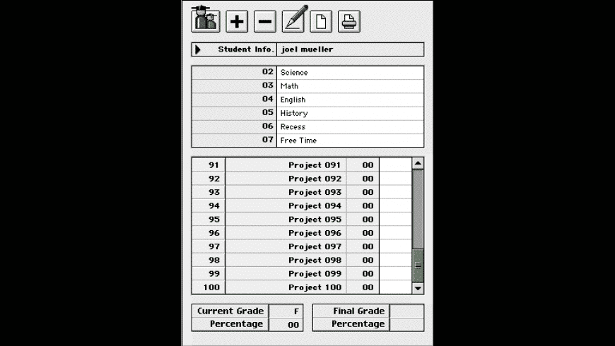 theGRADER (PPC) for Mac - review, screenshots