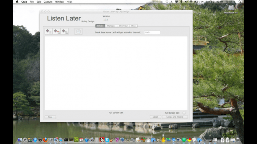 Listen Later for Mac - review, screenshots