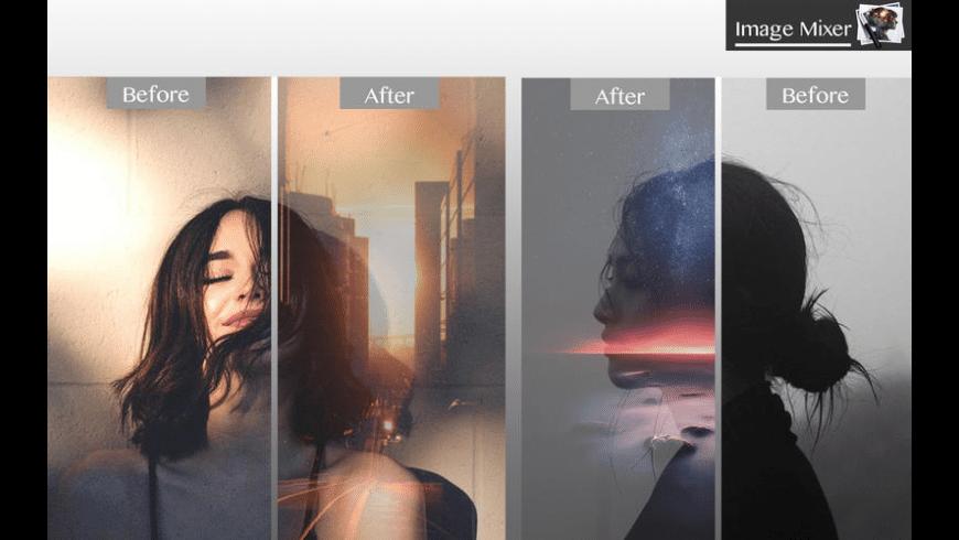 Image Mixer for Mac - review, screenshots