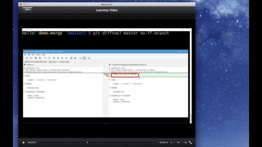 Master Git for Mac - review, screenshots