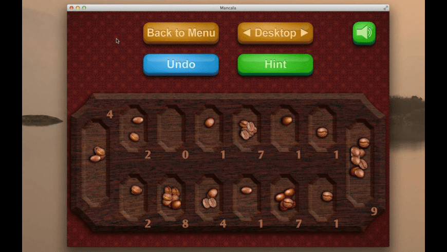 Mancala for Mac - review, screenshots