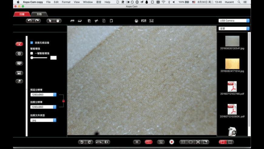 Kopa Capture for Mac - review, screenshots