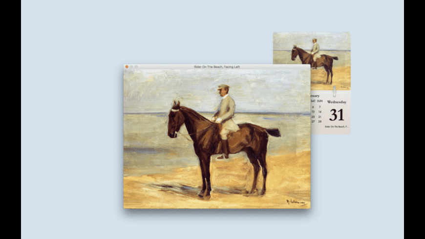 Calarty Max Liebermann for Mac - review, screenshots