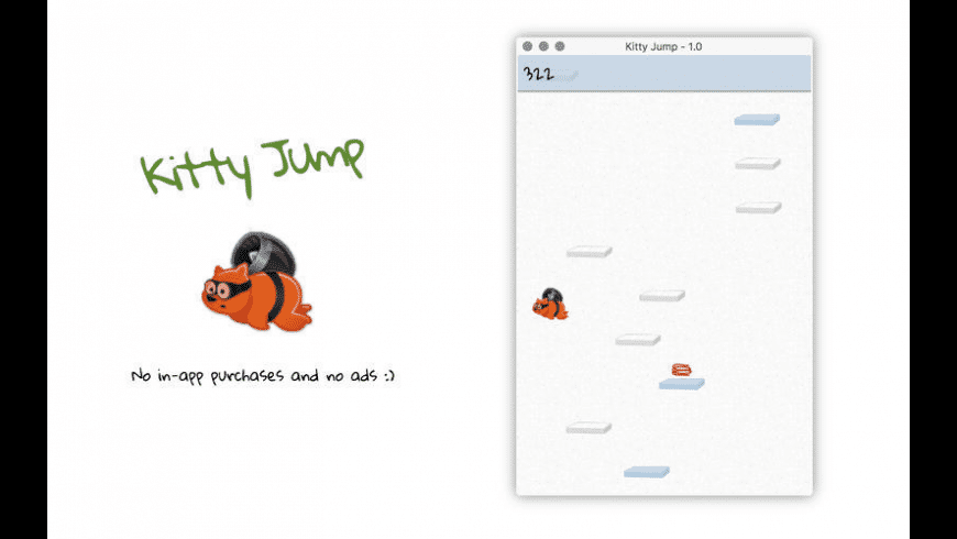 Kitty Jump for Mac - review, screenshots