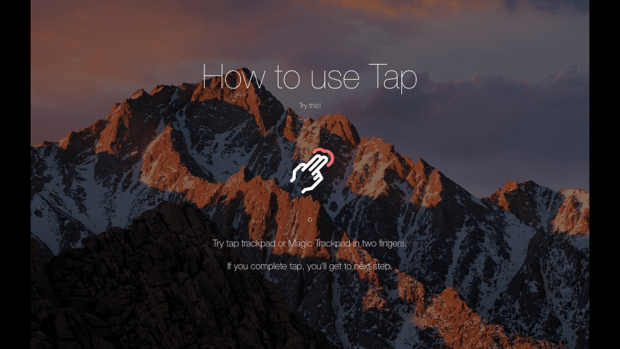 Tap for Mac - review, screenshots