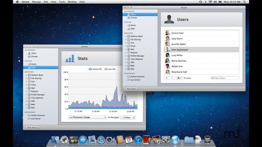 Apple Server Admin Tools for Mac - review, screenshots