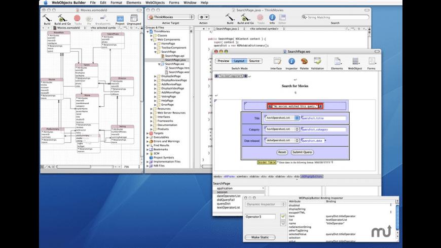 Apple WebObjects Update for Mac - review, screenshots