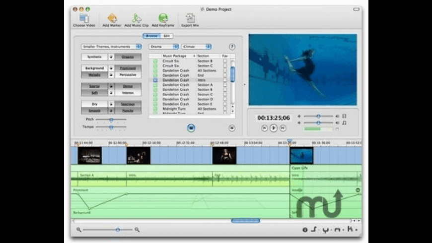 Musicbed DV for Mac - review, screenshots