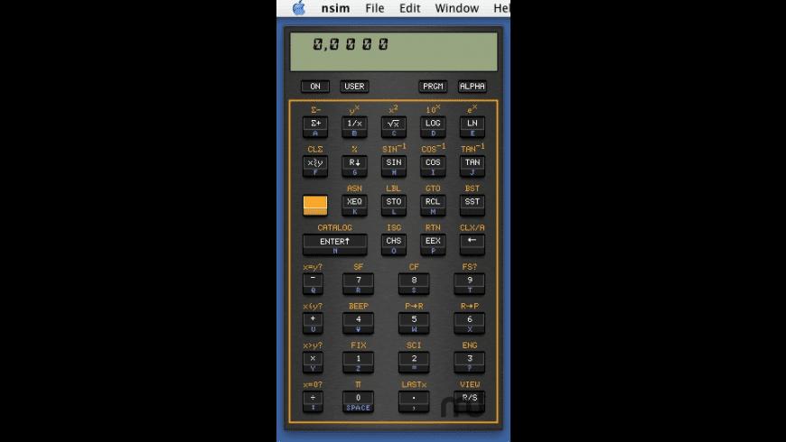 nsim for Mac - review, screenshots