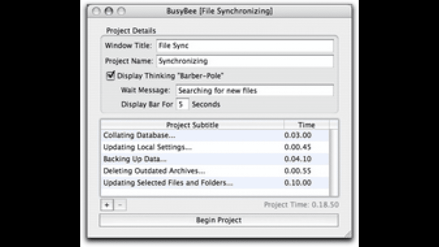 BusyBee for Mac - review, screenshots