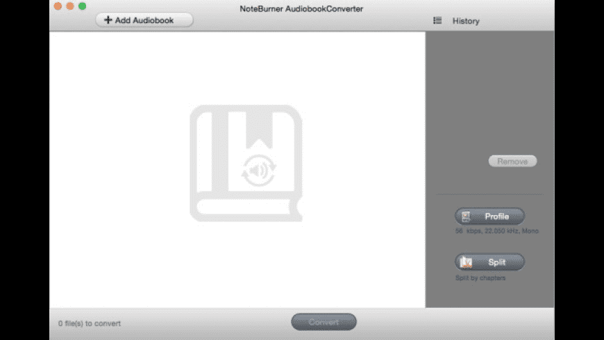 NoteBurner Audiobook Converter for Mac - review, screenshots