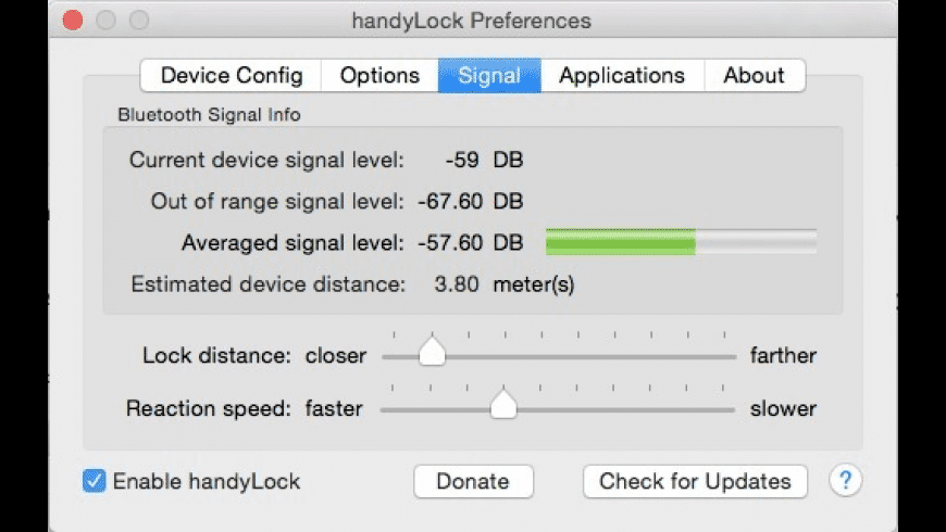 handyLock for Mac - review, screenshots