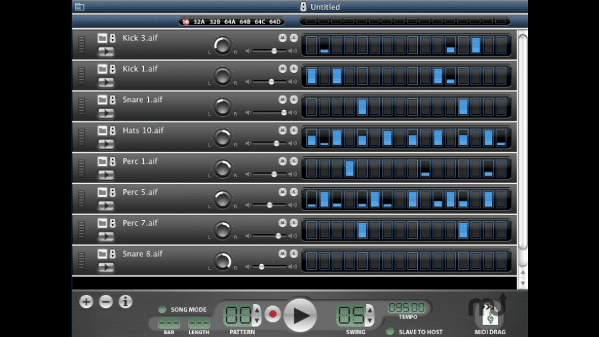 iDrum for Mac - review, screenshots