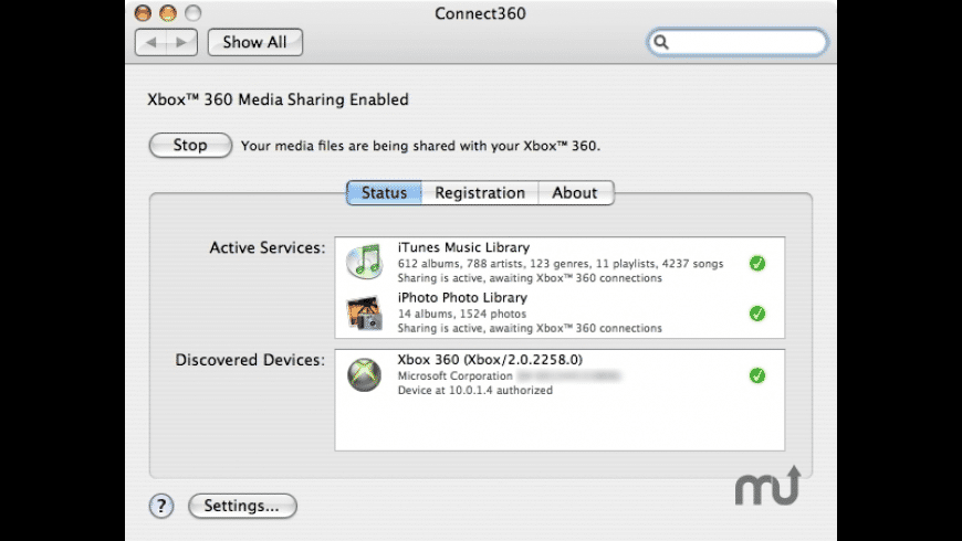 Connect360 for Mac - review, screenshots