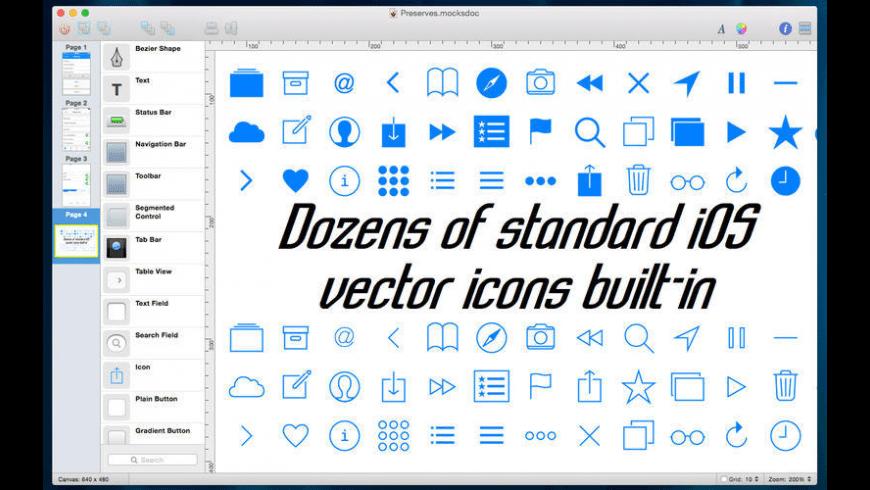 Mocks for Mac - review, screenshots