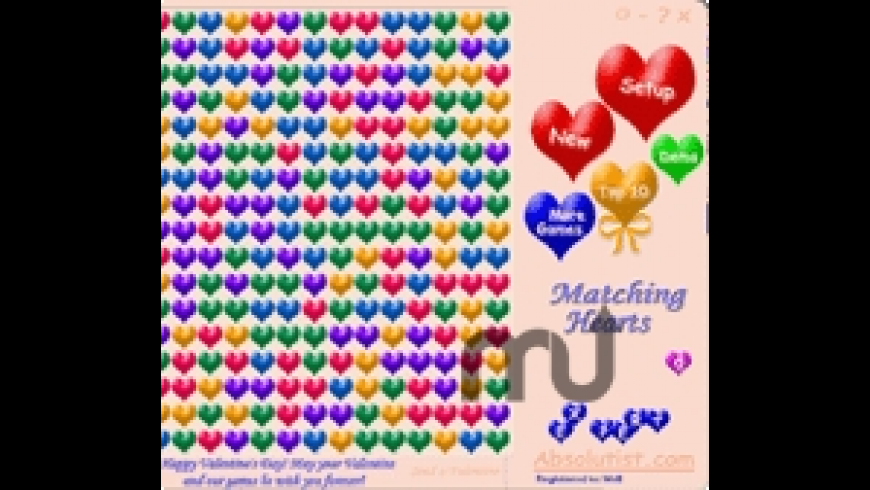Matching Hearts for Mac - review, screenshots
