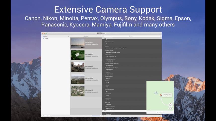 iExifer for Mac - review, screenshots