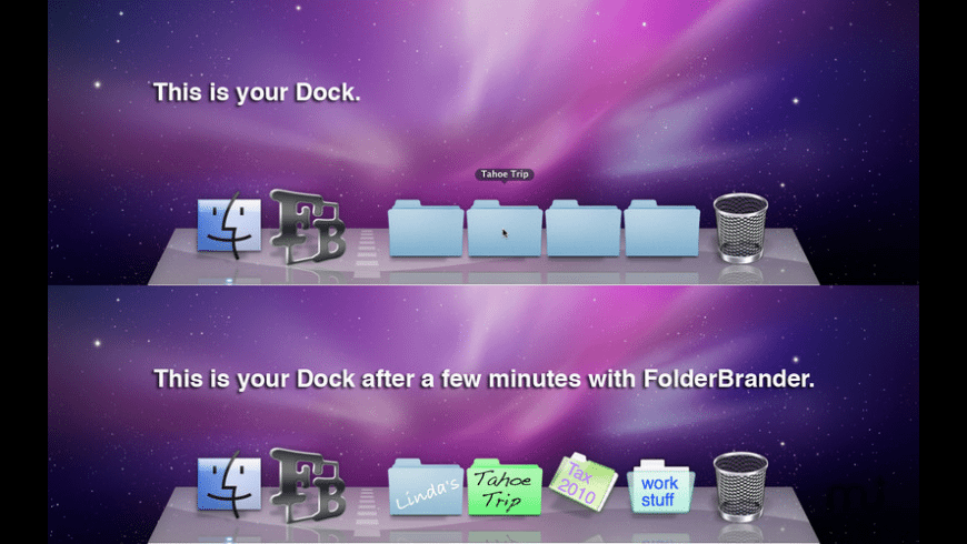 FolderBrander for Mac - review, screenshots